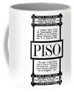 Patent Medicine, C1887 Coffee Mug