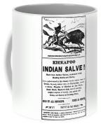Patent Medicine, C1890 Coffee Mug