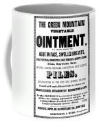 Patent Medicine Label, C1850 Coffee Mug