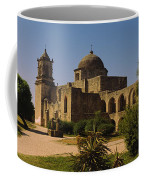 Path In Front Of A Church, Mission San Coffee Mug