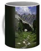 Path Of Life Ruby Mountains Stock Trail Coffee Mug