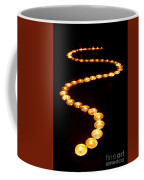 Path Of Light Coffee Mug by Olivier Le Queinec