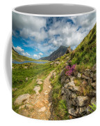 Path To Lake Idwal Coffee Mug by Adrian Evans