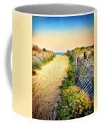 Path To The Beach Coffee Mug