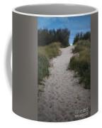 Path To The Dunes Coffee Mug