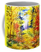Path To The Fall Coffee Mug