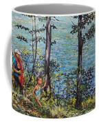 Path To The Lake Coffee Mug