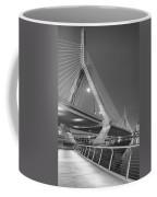 Path To The Leonard P. Zakim Bridge Bw Coffee Mug