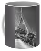Path To The Leonard P. Zakim Bridge Bw Coffee Mug
