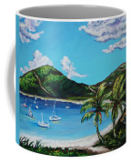 Path To White Bay  Coffee Mug