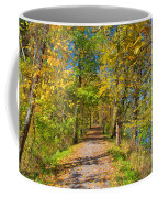Pathway Along The Ohio And Erie Canal  Coffee Mug