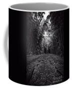 Pathway Through A Bamboo Forest Maui Hawaii Coffee Mug