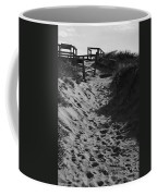 Pathway Through The Dunes Coffee Mug by Luke Moore
