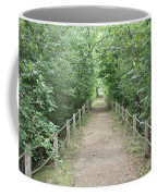 Pathway Through The Forest Coffee Mug