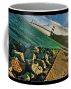 Pathway To The Golden Gate Coffee Mug