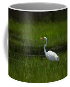 Patience - Egret Coffee Mug