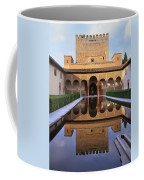 Patio De Los Arrayanes La Alhambra Coffee Mug