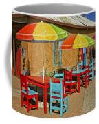 Patio Old Town Albuquerque New Mexico Dsc08203 Coffee Mug