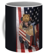 Patriot Bear Coffee Mug by Sharon Elliott