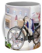 Patriotic Bicycle Coffee Mug