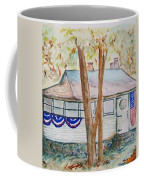 Patriotic Cottage Coffee Mug