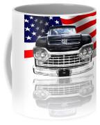 Patriotic Ford F100 1960 Coffee Mug