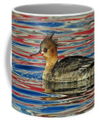 Patriotic Merganser Coffee Mug