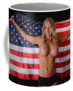 Patriotic Sexy Woman  Coffee Mug