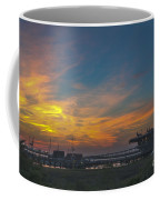 Patriots Point Sunset Coffee Mug