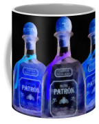 Patron Tequila Black Light Coffee Mug