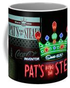 Pat's King Of Steaks Coffee Mug