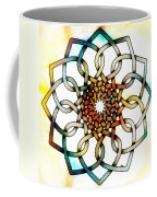 Pattern 18 Colourised Coffee Mug