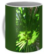 Green Plant Pattern Coffee Mug