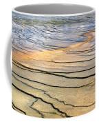 Patterns At Yellowstone #1 Coffee Mug