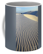 Patterns In The Sand Brazil Coffee Mug