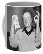 Patty Berg Shoots A 64 Coffee Mug