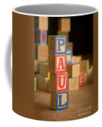 Paul - Alphabet Blocks Coffee Mug