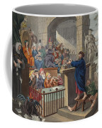 Paul Before Felix, Illustration Coffee Mug