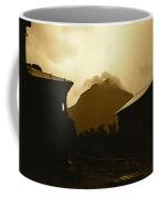 Paul Cezanne Homage Golden Gate Peak Old Tucson 1967-2009 Coffee Mug