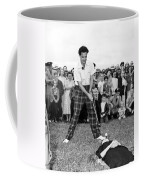 Paul Hahn Golf Stunt Shot Coffee Mug