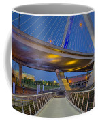 Paul Revere Park And The Zakim Bridge Coffee Mug