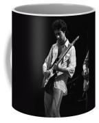 Paul At Work On His Guitar In 1977 Coffee Mug