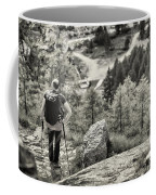 Pause After Climbing Coffee Mug