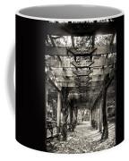 Pavillion Shade At Central Park Coffee Mug