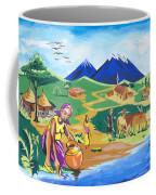 Paysage Du Nord Du Rwanda Coffee Mug