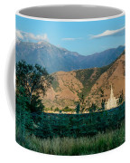 Payson Temple Mountains Coffee Mug