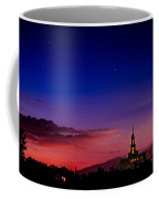 Payson Temple Starry Night Artistic Coffee Mug