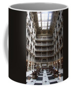 Peabody Library Baltimore Coffee Mug