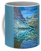 Peace At Bow Lake Coffee Mug