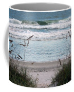 Peace At The Beach Coffee Mug